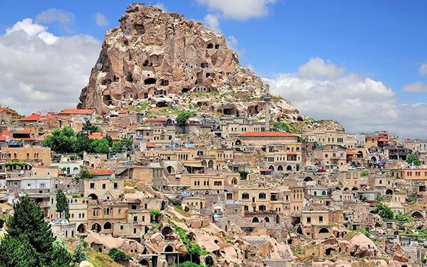 Каппадокия в Турции: