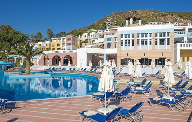 Отель Fodele Beach Water Park Resort