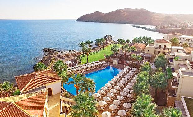 Отель Grecotel Club Marine Palace