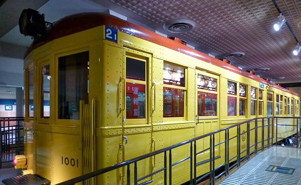 Музей метро в Токио