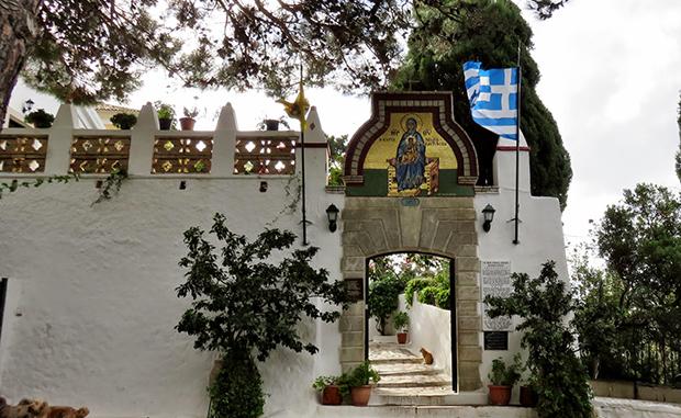 Монастырь Девы Марии в Палеокастрице