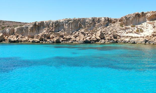Голубая лагуна Айя-Напа (Blue Lagoon Ayia Napa)