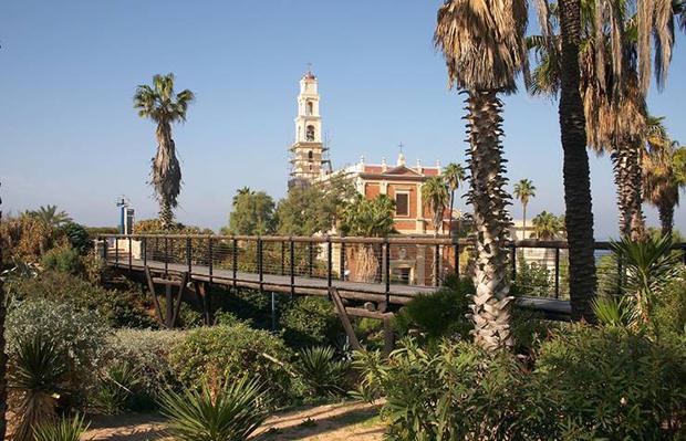 Мост желаний в Яффо