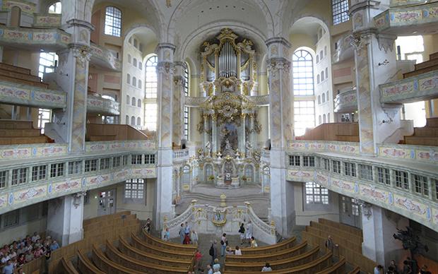 Фрауэнкирхе – лютеранская церковь