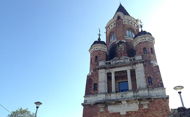 Холм Гардош и башня «Миллениум»