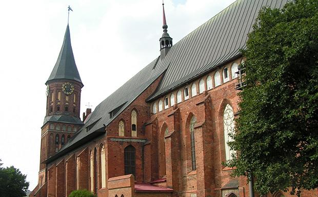 >Кафедральный собор в Калининграде