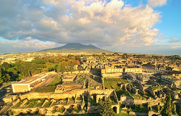 Помпеи – трагическая достопримечательность