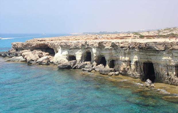 Морские пещеры-гроты Айя-Напы (Sea caves-grottos Ayia Napa)