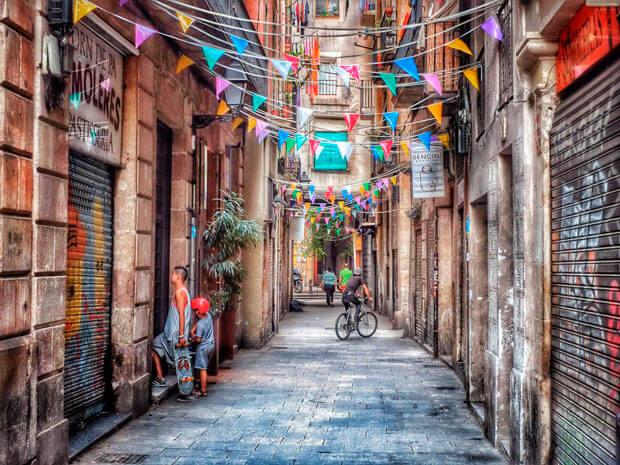 Многоликая Барселона