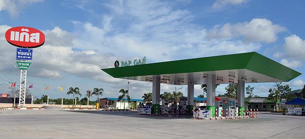 Топливо и заправки в Таиланде
