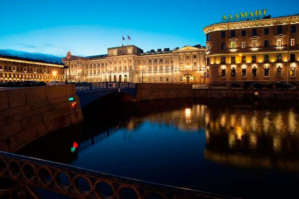 Мариинский дворец в Санкт-Петербурге