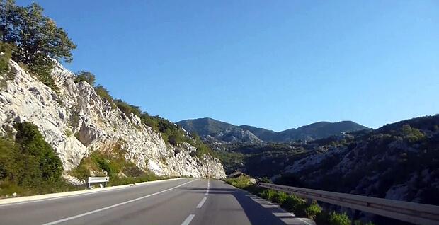 Аренда авто в Черногории дороги