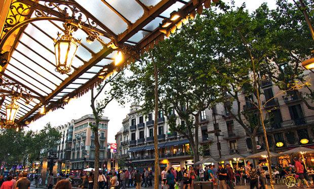 Первый раз в Барселоне