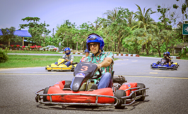 Go kart speedway Phuket