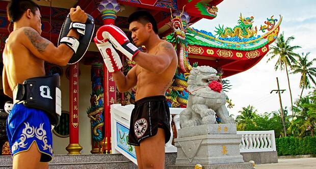 Тайский бокс Муай Тай Пхукет