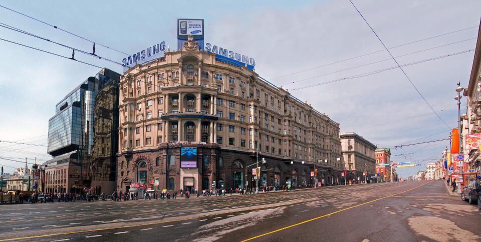 улица Тверская, Москва