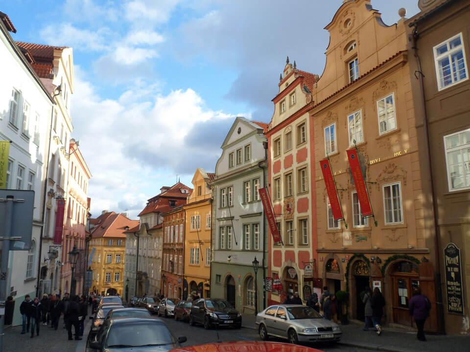 Нерудова улица, Прага