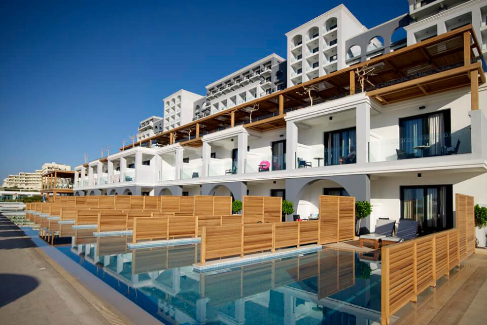 Mitsis Alila Resort & Spa 5*, Родос