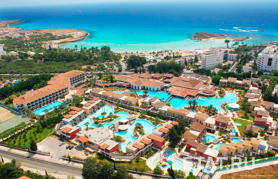 Туры в Айя-Напу (Кипр) на 9 ночей, отели 3-5*, завтраки+ужины от 68 965 руб за ДВОИХ — июнь