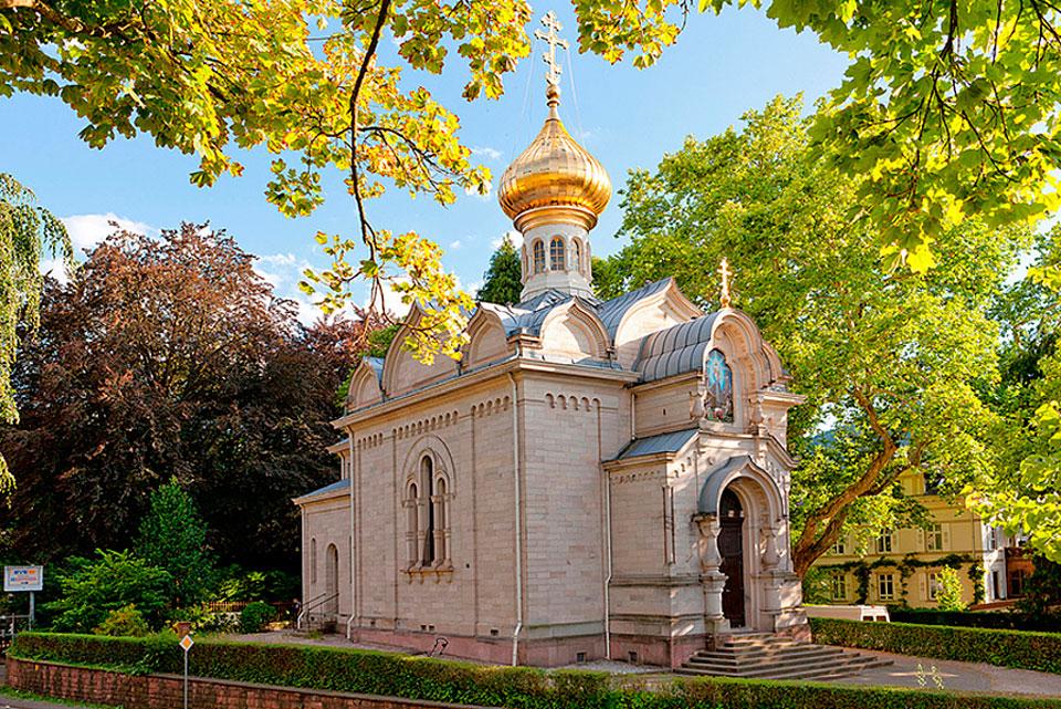 Русская церковь, Баден-Баден