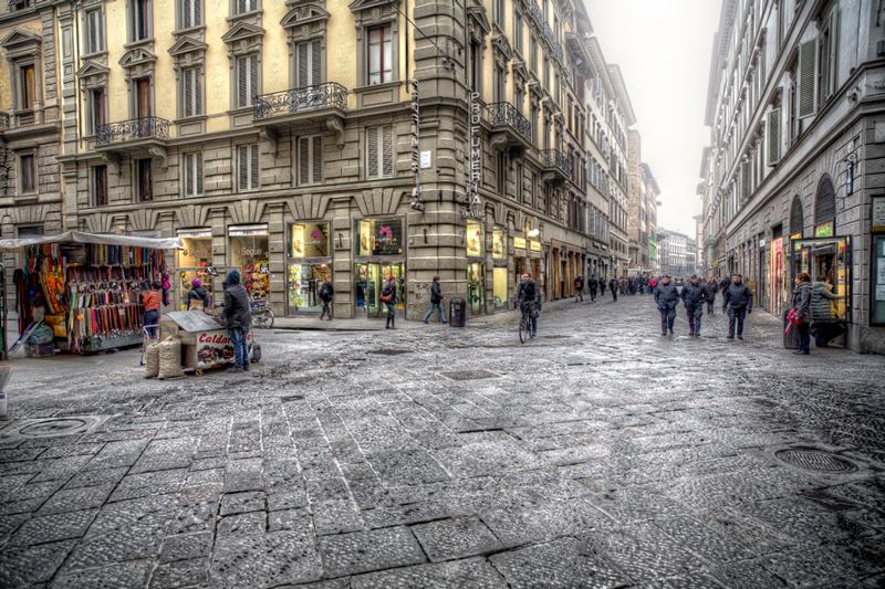 Via dei Calzaiuoli, Флоренция