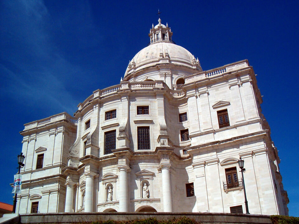 Церковь Святой Энграсии, Лиссабон