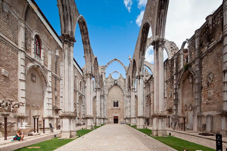 Монастырь кармелитов, Лиссабон