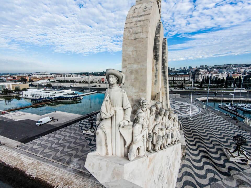 Памятник первооткрывателям, Лиссабон
