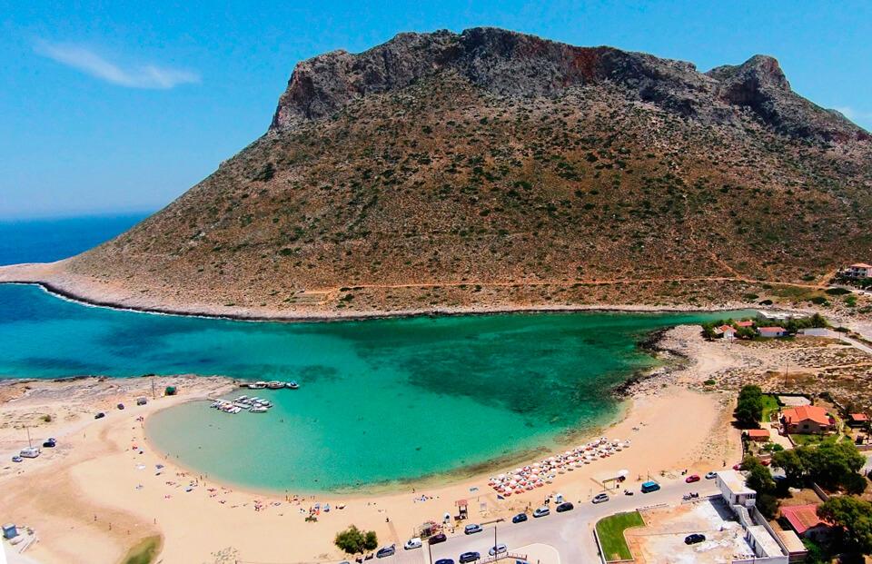 Карта пляжей крита