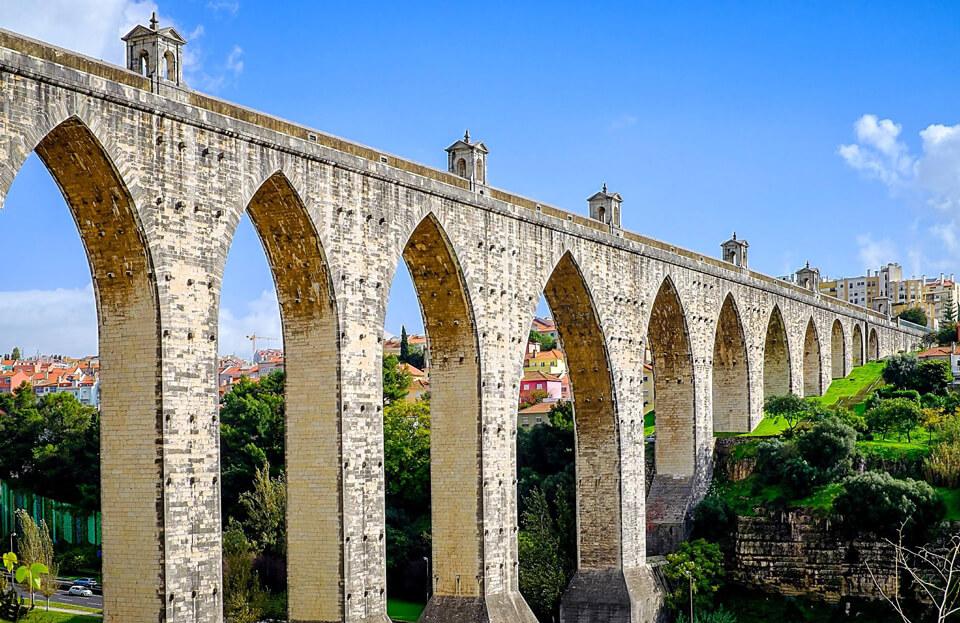Акведук Агуаш-Либриш, Лиссабон