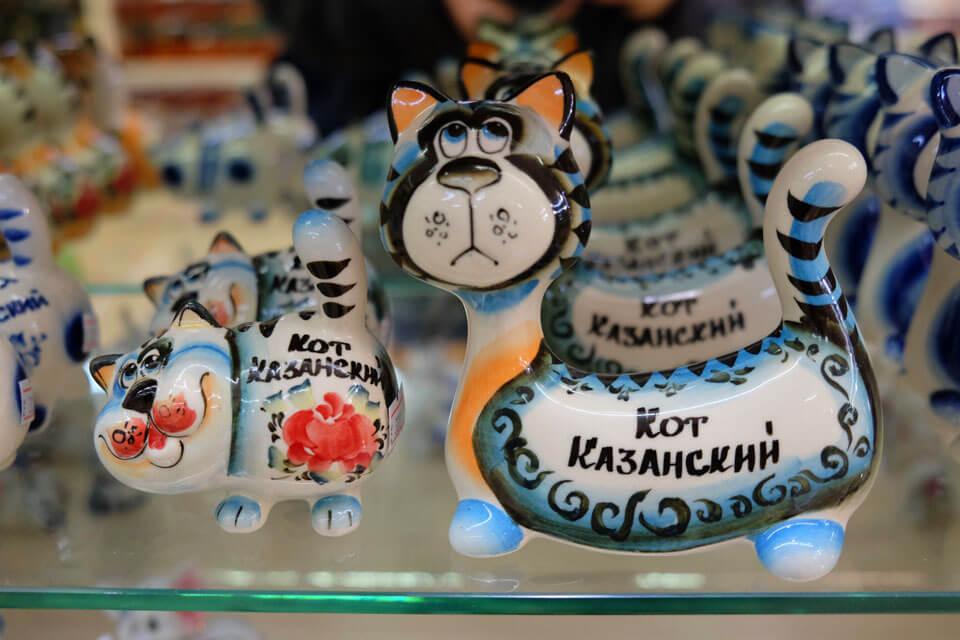 Казанский кот, Казань