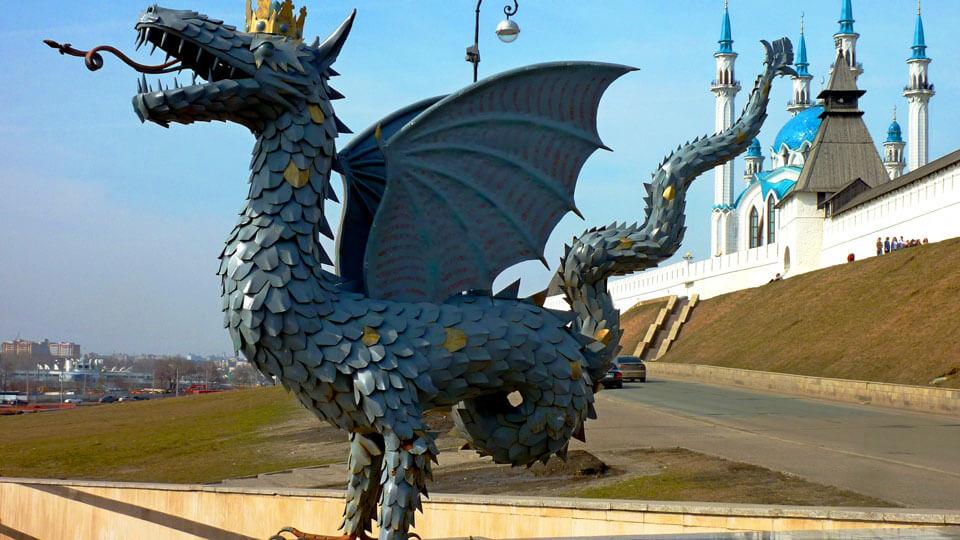 Зилант, Казань