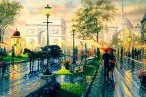 Как провести выходные в Париже за 100 евро