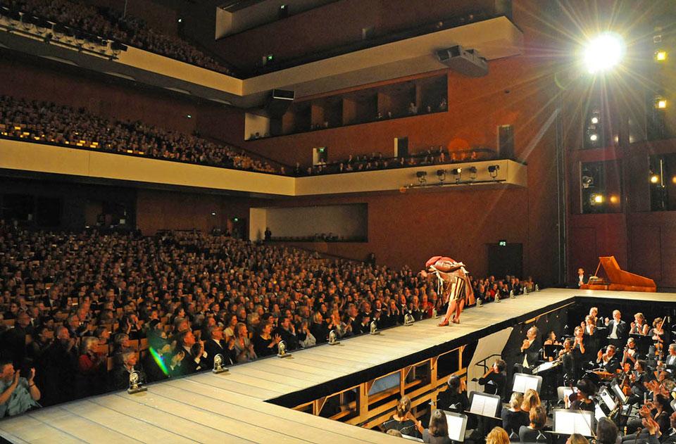 Зал музыкальных фестивалей. Баден-Баден