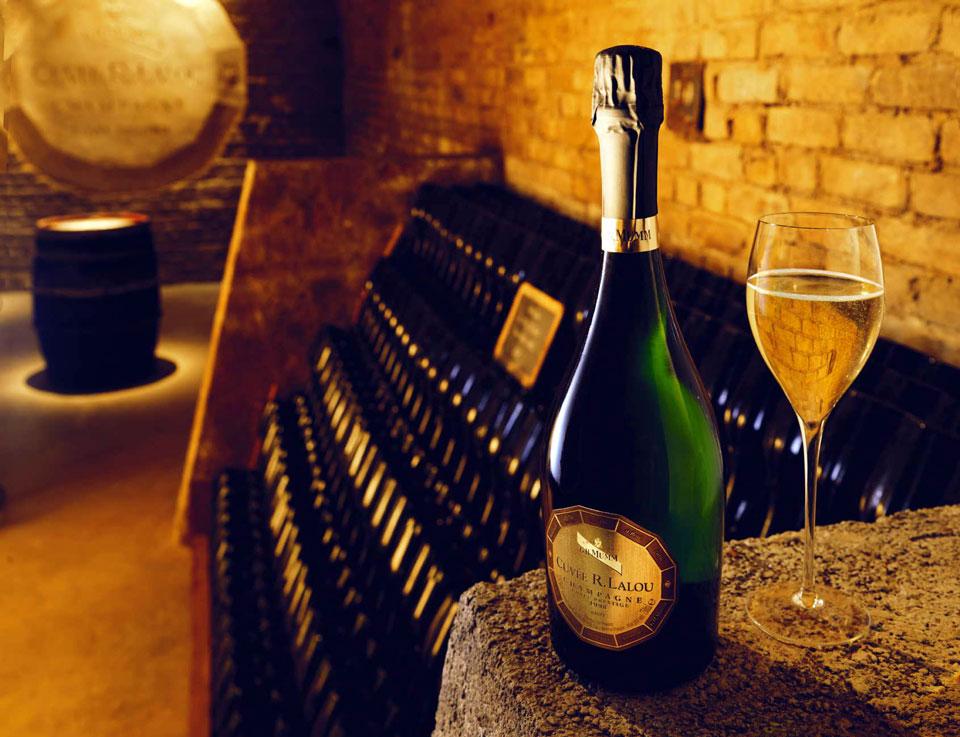 Вино, шампанское, Франция