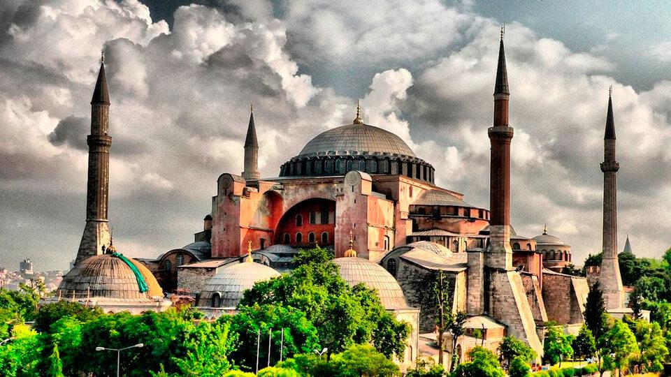 Мечеть Айя София, Стамбул