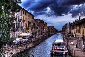 Самостоятельно в Милан