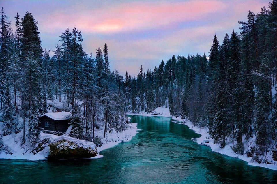 Национальный парк Оуланка, Финляндия