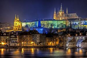 Отели в центре Праги 5, 4 и 3 звезды