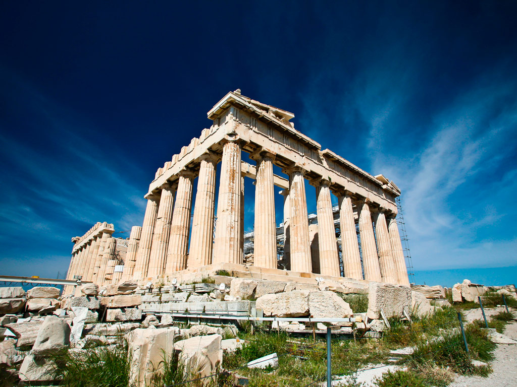 the intervention on the acropolis in the modern era essay