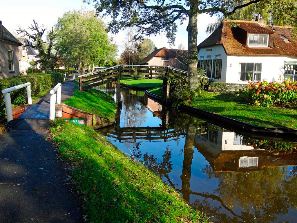 деревня гитхорн в голландии купить дом
