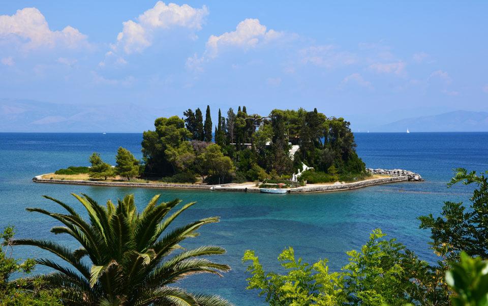 Мышиный остров, Корфу