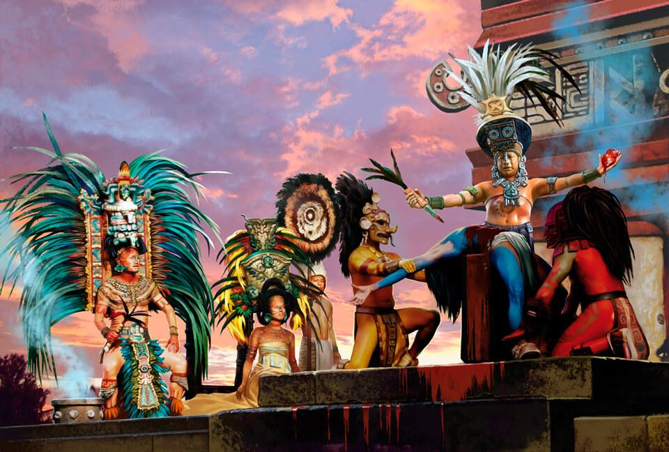 История империи ацтеков
