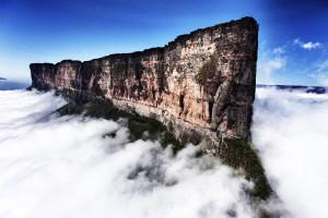 Гора Рорайма в Венесуэле