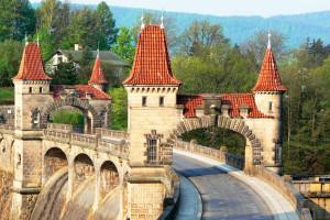 Тешновская плотина в Чехии