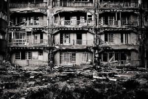 Ганкаджима — остров призрак в Японии