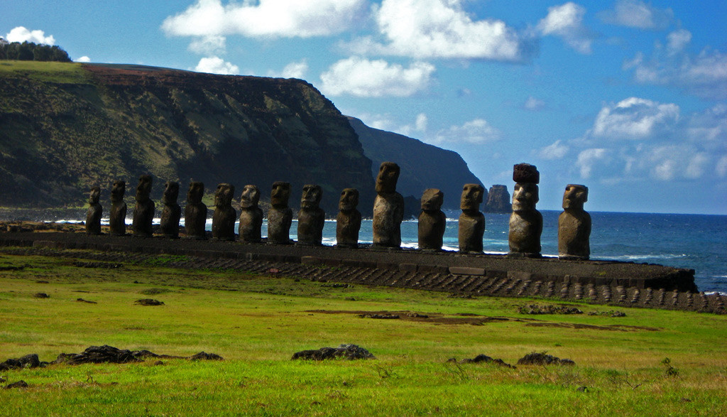 a history of the easter island a remote island in the south pacific This pacific island is only 8 square miles  easter island (images via this famous and remote polynesian island in the southern pacific.