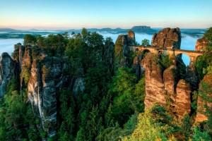Бастай — каменный бастион в Германии