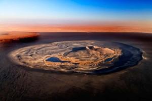 Вау-ан-Намус — кратер потухшего вулкана в Ливии