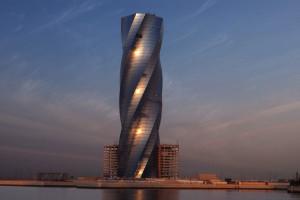 Юнайтед Тауэр. Башня-Сверло в заливе Бахрейна